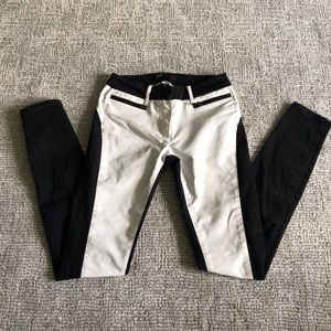 3x1 black and white jeans